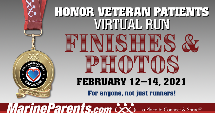 VR February 12-14, 2021: Honor Veteran Patients Run