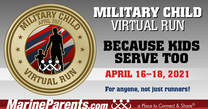 VR April 16-18, 2021: Military Child Run