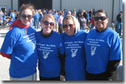 Marine Parents Staff Walk in Memory of Fallen