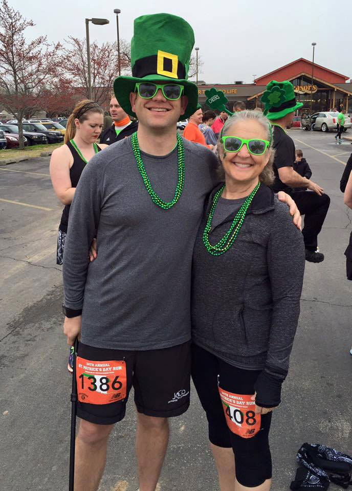TMPs' Matt and Marianne Complete the St. Patrick's 5K in Tulsa