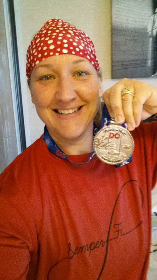 TMPs' Michelle Foster Completes the Rock n Roll DC Half Marathon