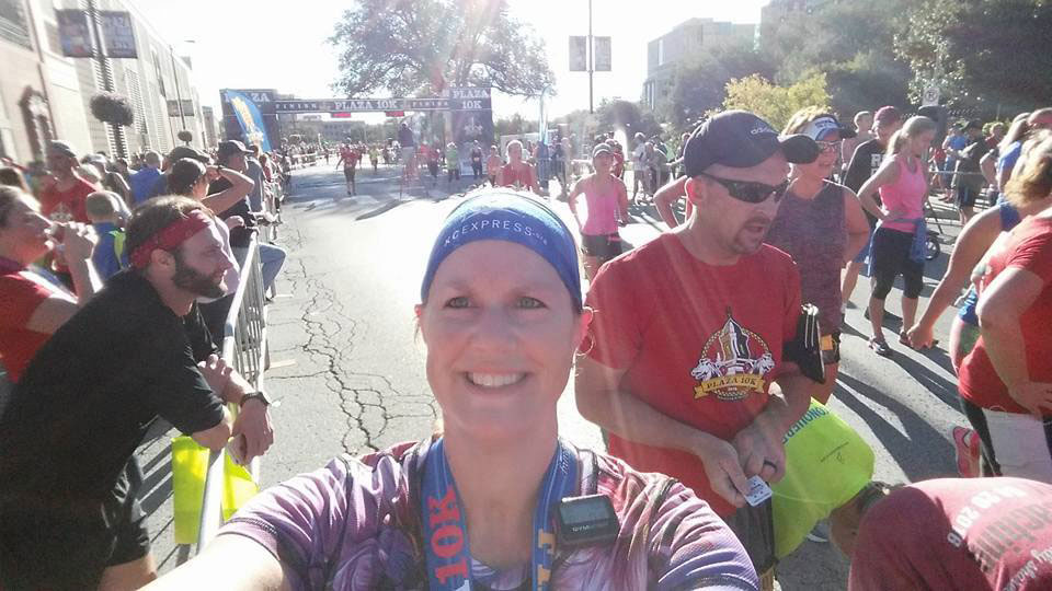 Penny Terwelp completed the Plaza 10K in Kansas City