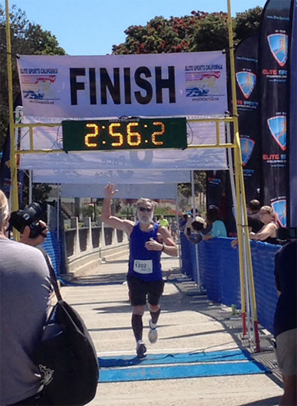 Congratulations to TMPs' Dale Larson for completing the San Diego Half Marathon last weekend!