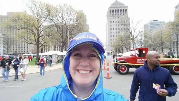 Penny Terwelp Completed the St. Louis Half!