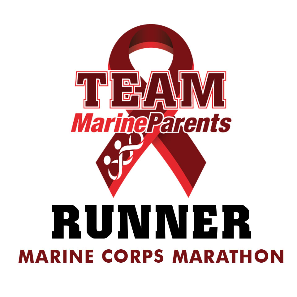 Team Marine Parents USMC Marine Corps Marathon