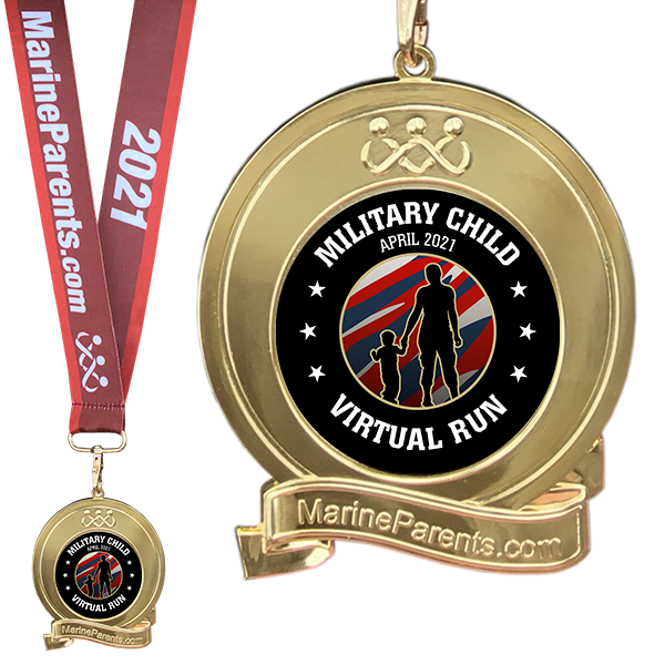 April Finisher's Medal